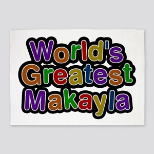 World's Greatest Makayla 5'x7' Area Rug